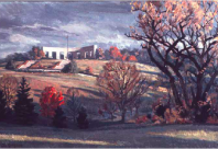 Autumn Morning, Memorial Park