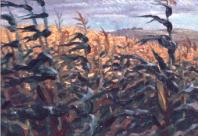 Blowing Corn